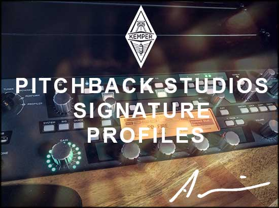 Pitchback Profiles - Kemper Profiles for hard music